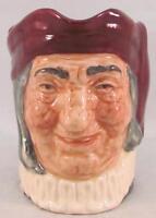 Royal Doulton Small Character Jug Toby Simon the Cellarer D5616