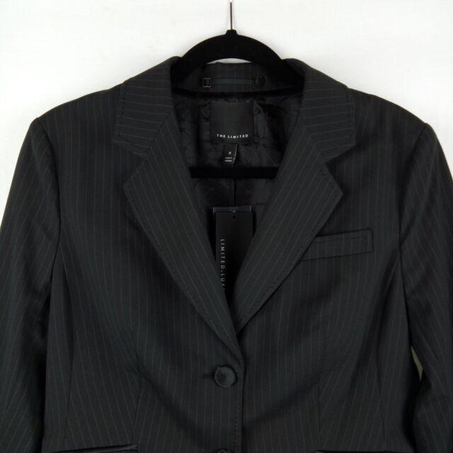 The Limited Luxe Blazer Women Size 12 Black $168