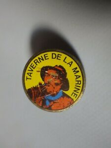 Pin-039-s-Vintage-Collector-Lapel-Pin-Advertising-Tavern-Of-La-Marine-Lot-A011