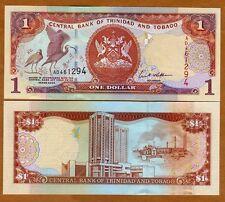 Trinidad and Tobago, 1 dollar, 2002, Pick 41b, UNC