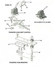 Fits Jeep CJ-5 CJ-7 CJ-8 Driveline Shifter Lever  18885.34