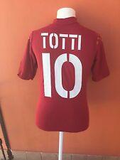Maglia Roma Diadora 2003 #10 Totti Madza Calcio Camiseta Shirt
