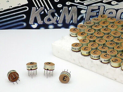 4x  TIM187V Miniature impulse Transformer NOS Made in USSR ТИМ187В