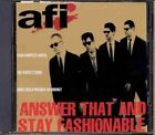 Answer That & Stay Fashionable by AFI (Vinyl, May-1997, Nitro)
