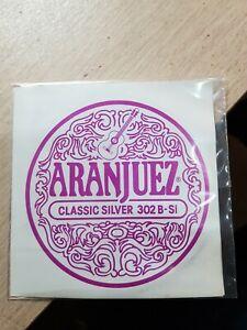 2 ARANJUEZ Classic Silver 302 B si Nylon Guitar String corde chitarra classica