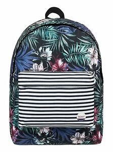 2b26a8323a Details about School Bag Roxy Backpacks Women/Girls Sugar Baby & Be Young  Bag Prints Rucksacks