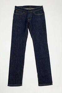 Calvin-klein-jeans-uomo-usato-skinny-stretch-W29-tg-43-blu-denim-boyfriend-T5879