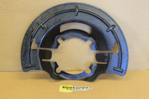 BRAKE DUST SHIELD FORD SUPER DUTY F250 OR F350 DANA 60 OR 50 FRONT AXLE LH OR RH