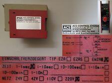 ACS-Control-System EWZA Einbereichszeitrelais 220V 9-4 #2594