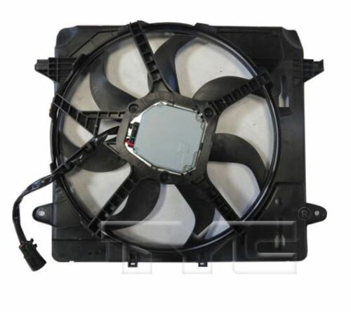 TYC 624080 Dual Rad/&Cond Fan Assy for Jeep Wrangler 3.6L 2012-2018 Models