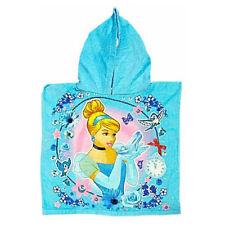 DISNEY PRINCESS CINDERELLA KIDS BATH PONCHO HOODED TOWEL GIRLS OFFICIAL