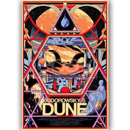Custom Silk Poster Wall Decor Jodorowsky/'s Dune