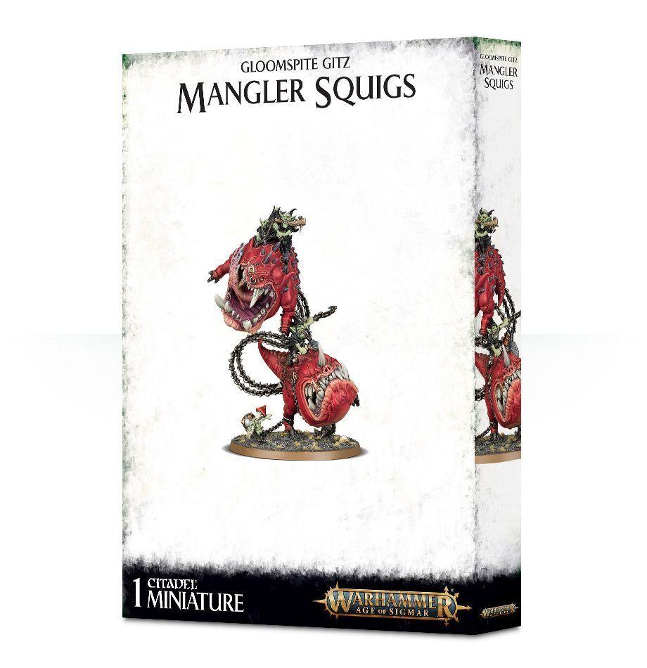 Warhammer fantasy   alter von sigmar gloomspite gitz zerfleischer squigs nib