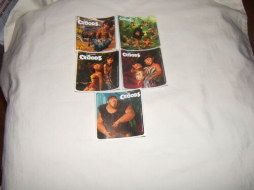 5 The Croods  Stickers Party Favors