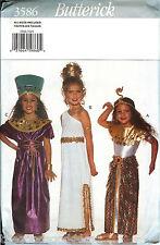 Butterick 3586 Egyptian Cleopatra Princess Nile Royalty Costume Pattern UNCUT FF