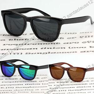 Rectangular-Square-Sunglasses-Polarized-Mirror-Lenses-UV400-Women-039-s-Mens