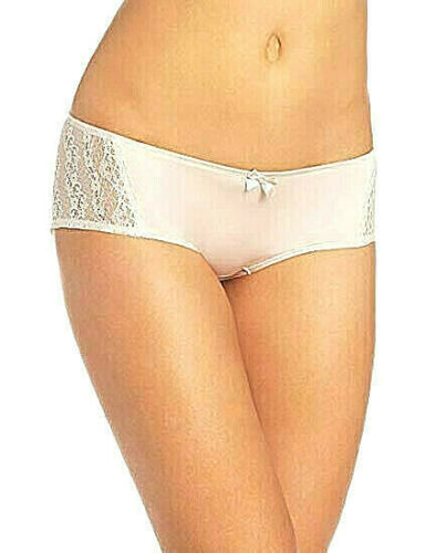 XL Lace Side Great Fit 730002 FELINA SIMONE BIKINI HIPSTER BRIEF in Oyster SM