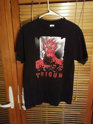 Vintage Trigun T Shirt Anime Vash The Stampede Adu