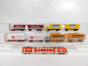 CG396-0-5-4x-Wiking-H0-1-87-Lastzug-MAN-471-Weiss-473-551-570-NEUW-OVP