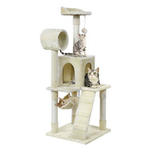 51-034-Cat-Tree-Tower-Condo-Furniture-Scratching-Post-Pet-Kitty-Play-House-Hammock