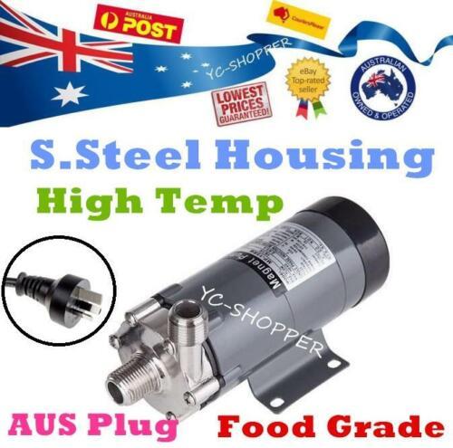 S.Steel High Temperature Hot Water Food Grade Brewing Magnetic Drive Pump