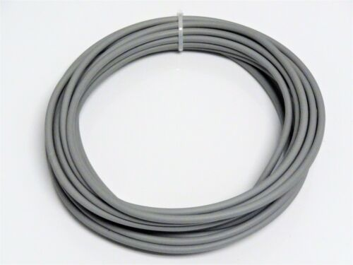 AUTOMOTIVE WIRE 18 AWG HIGH TEMP GXL STRANDED WIRE GREY 25 FT MADE IN USA