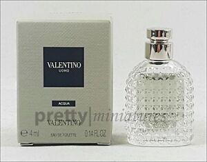 ღ Valentino Uomo Acqua - Valentino - Miniatur EDT 4ml *Brandnew 2017*