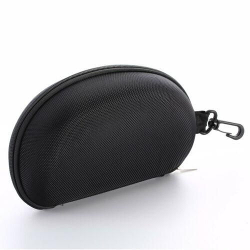 Portable Snow Ski Snowboard Goggles Glasses Carrying Hard Case Zipper Box Black