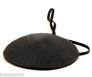 NEW-FANCY-DRESS-BLACK-SATIN-PIRATE-EYE-PATCH-EYEPATCH-COSTUME-ACCESSORY