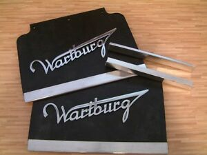 Wartburg-Spritzlappen-Schmutzfaenger-mit-Schriftzug-fuer-311-312-313-2Stk-NEU