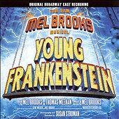 YOUNG FRANKENSTEIN Original Broadway Cast Recording CD 2007 Mel Brooks - $8.99