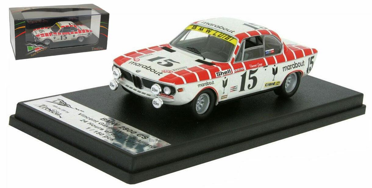 TROFEU rrbe 03 BMW 2800 CS  15 24 H Spa 1972-Gaye Braillard échelle 1 43