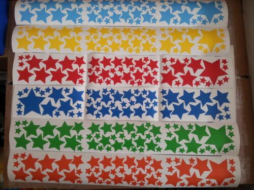 Vario Tamaño Estrellas Pegatinas De Pared Niño Arte Calcomanía Decoración Del Cuarto de Niños Dormitorio Vinilo