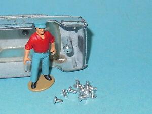 Corgi toys DINKY TOYS Lot de 50 rivets Alu Cij JRD Solido ....