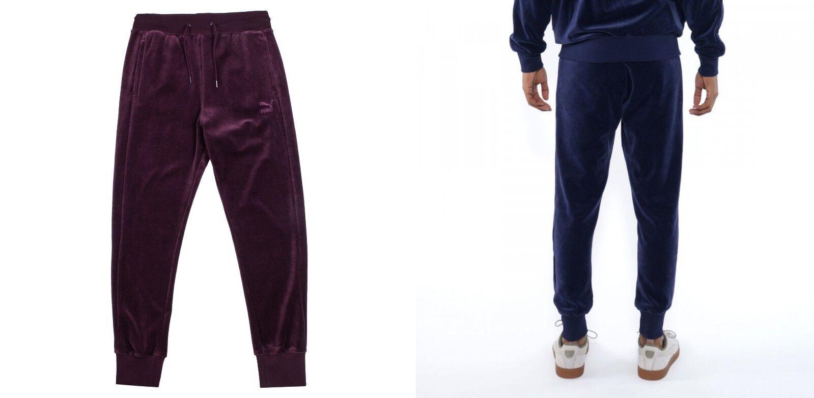 Puma Men's T7 Velour Two Tone Flip Warm Up SweatPants Pants  4XL XXXXL   75