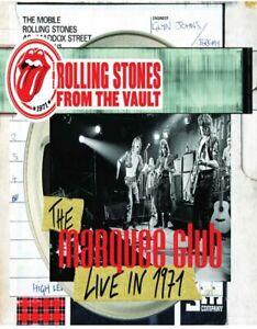 The Rolling Stones de La Vault The Marquee Club Live IN 1971 DVD Nuevo/Sellado