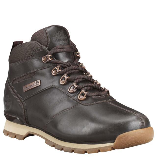 Timberland Uomo Splitrock Medio Escursionista Marrone Scuro Stivali