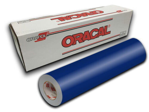"12/"" X 10ft White Gloss Oracal 651 Craft /& Hobby Cutting Vinyl Roll"