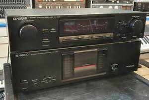 Kenwood KM-992 Hifi Amplifier & KC-992 Pre Amp Control Unit