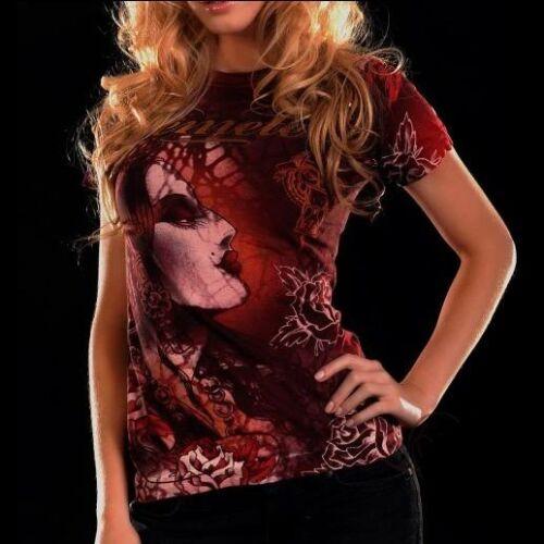 Rood Nieuw T vrouwen Gypsy S Nieuw voor Remetee Top shirt Klein nwOPxPv8