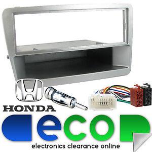Connects2 Honda Civic Ep1 2000-2005 estéreo Plata Fascia Facia Repuesto Panel