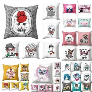 Am-Beauty-Cute-Animal-Dog-Rabbit-Cat-Pillow-Case-Cushion-Cover-Sofa-Bed-Car-Dec
