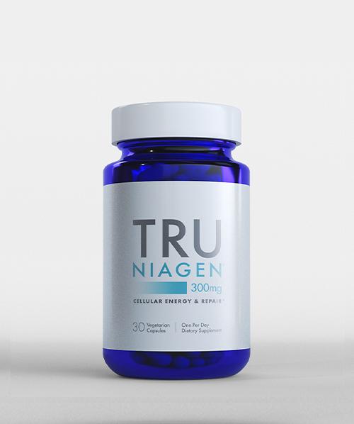 Tru Niagen Nicotinamide Riboside Chloride 30 Capsules 300mg Increase NAD+ Levels