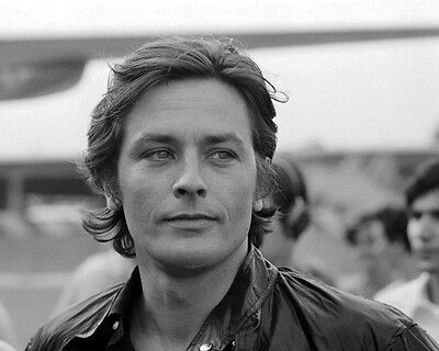 Actor Alain Delon French Superstar BW 10x8 Photo