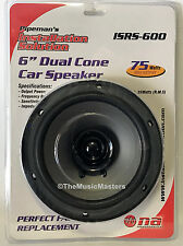 """1X ONE 6"""" inch Dual Cone Car Stereo Audio SPEAKER Factory OEM Style Replacement"""
