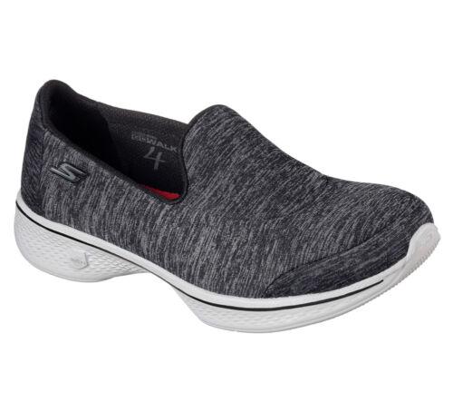 Go Walk Black Shoes 4 Women Leggero New Skechers Astonish Walking Sneakers Yw71q