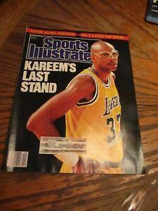 January-23-1989-Sports-Illustrated-Kareem-039-s-Last-Stand-L-A-Lakers-NBA-VG