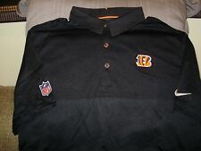 a3bc9adc item 4 NFL Cincinnati Bengals NIKE Dri Fit Elite Coaches Black Polo Golf  Shirt Men's XL -NFL Cincinnati Bengals NIKE Dri Fit Elite Coaches Black  Polo Golf ...