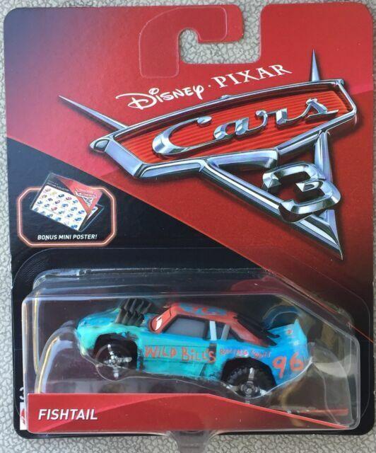 Disney Pixar Cars 3 Fishtail From Crazy 8 Demlition Derby For Sale Online Ebay