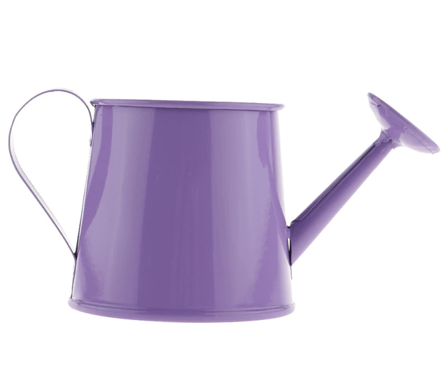 Watering Kettle Can Pot Long Mouth Plastic Irrigation Home Garden Tool Purple